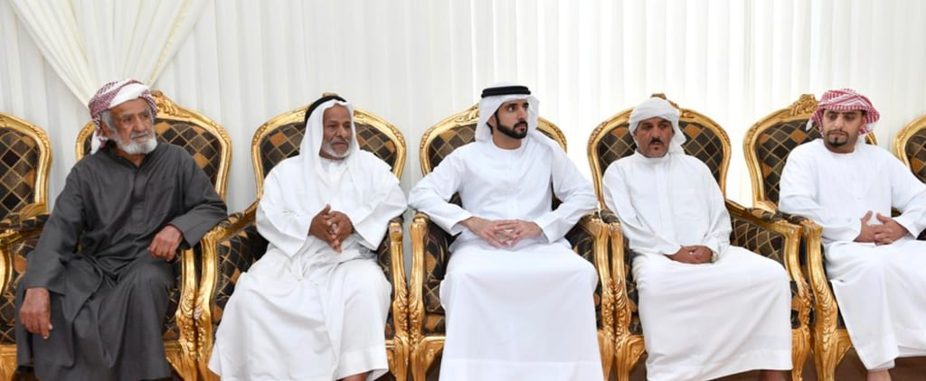 Sheikh Hamdan Offered Condolences to the Family of a Recent Tragedy