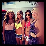 Ashley Tisdale posted this photo on her birthday. Source: Instagram User ashleytis