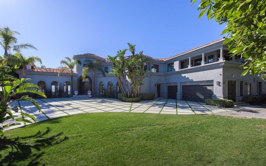 kylie jenner rents beverly hills mansion popsugar home