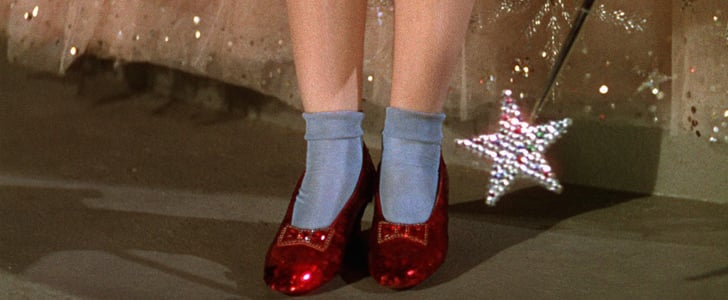 16. The Wizard of Oz: Those ruby slippers were quite possibly every shoe lover's first crush.  17. Cleopatra: Mark Antony was powerless to resist her charms, but we're more about those grandiose gold headdresses.   18. Legally Blonde: Exhibit A — Elle Woods's unapologetically pink wardrobe. Exhibit B — bruiser just may be the best dressed pooch in cinematic history (sorry, Goofy).  Source: Facebook user The Wizard of Oz
