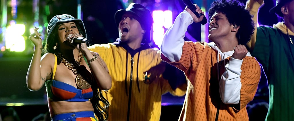 Try to Resist Dancing Along to Bruno Mars and Cardi B's Grammys Performance — We Dare You
