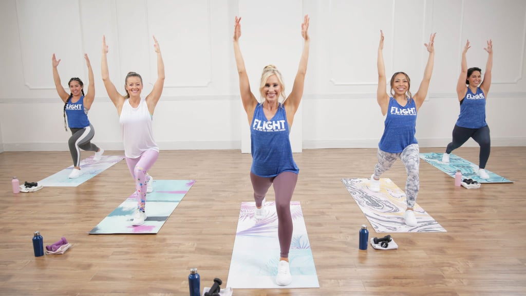 Cardio Dance Meets Yoga in This High-Energy Workout