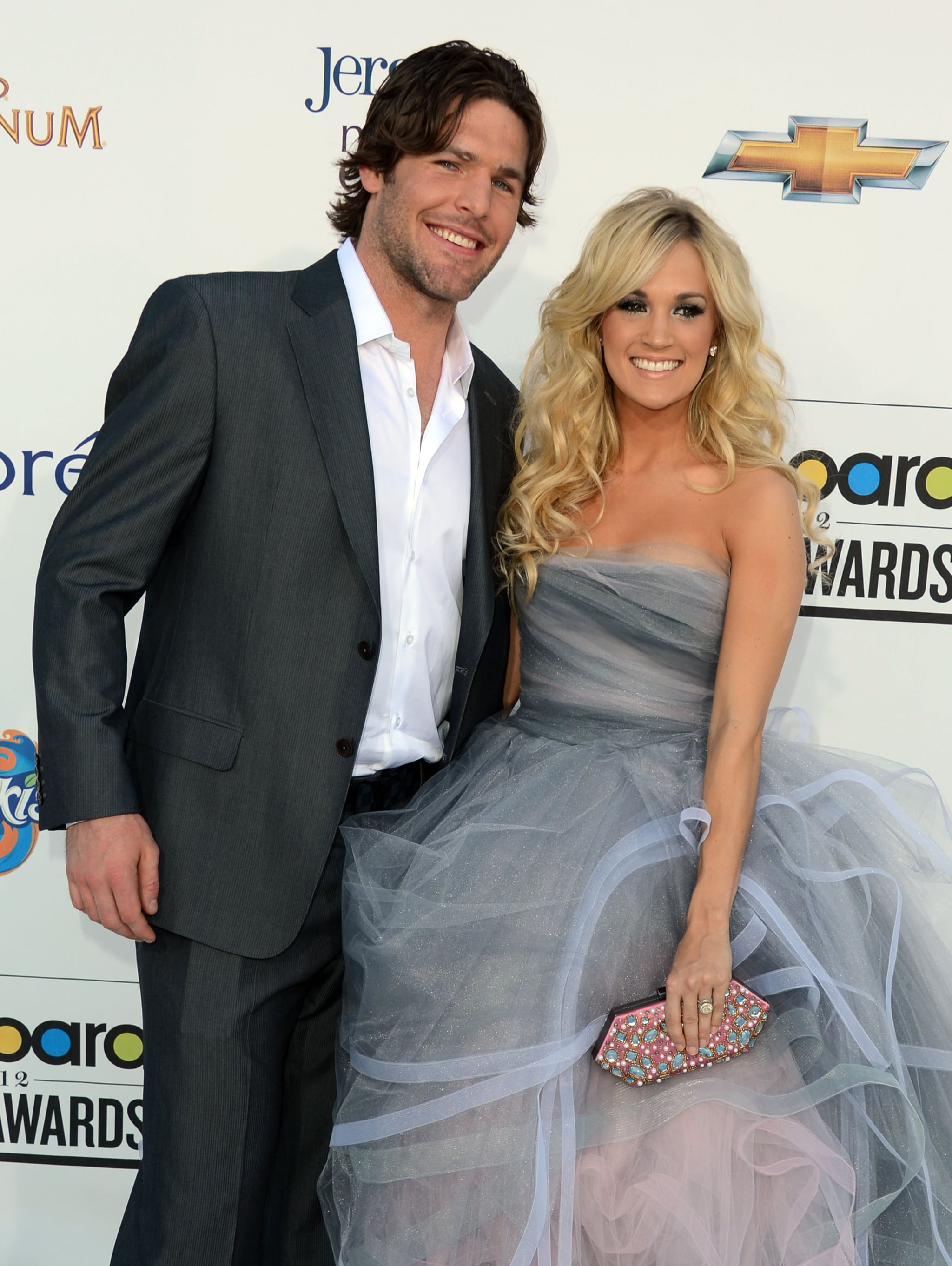 Carrie Underwood and her husband, Mike Fisher, were on hand for the 2012 Billboard Music Awards in May.