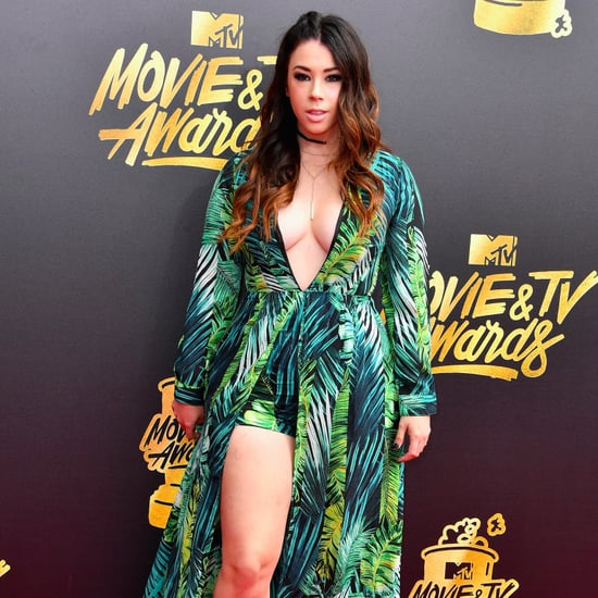 Jillian Rose Reed at the MTV Movie and TV Awards 2017