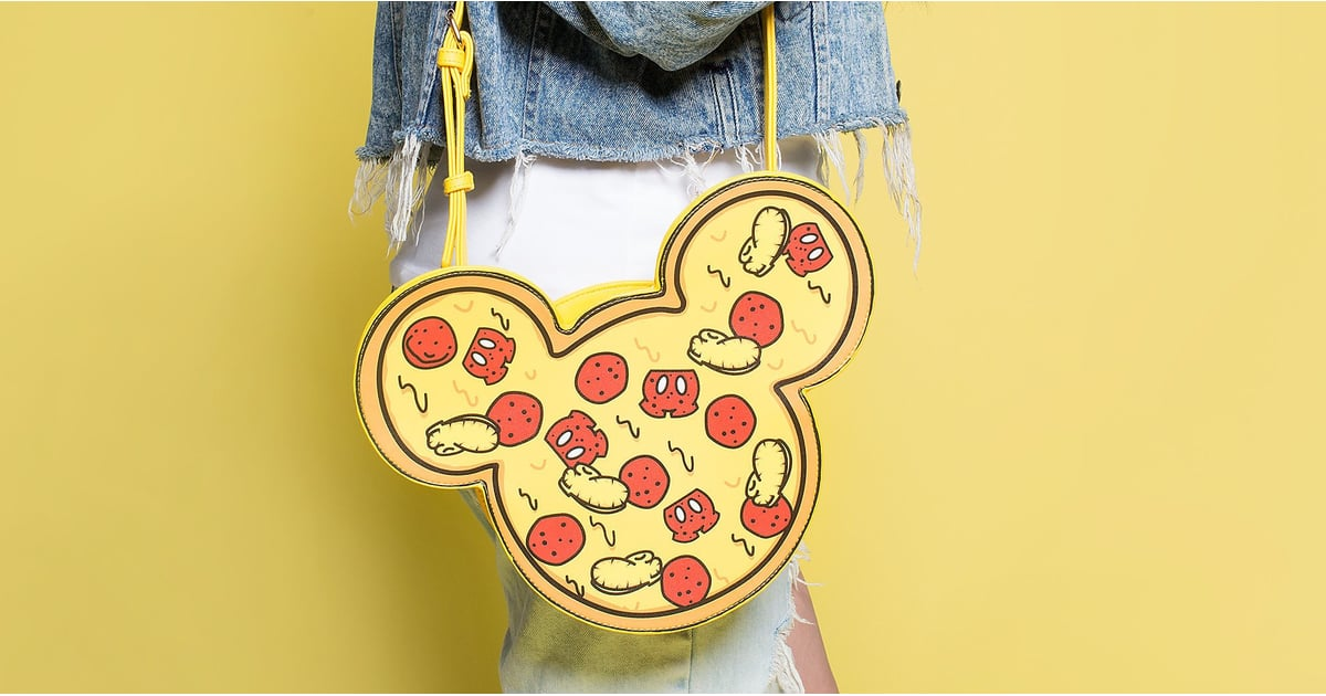 Cheesus Crust — Disney Just Released a Pizza Mickey Mouse Bag!