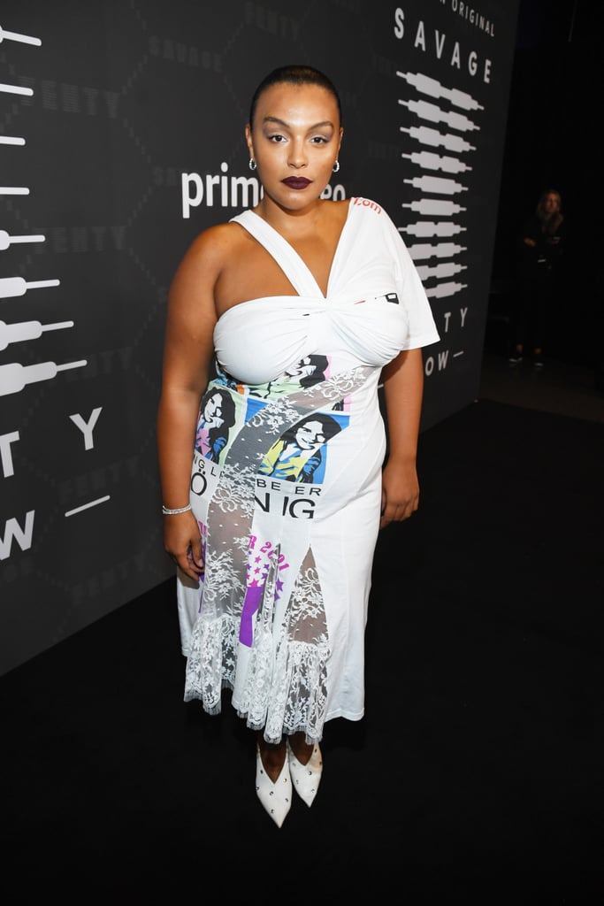 Paloma Elsesser at the Savage x Fenty New York Fashion Week Show