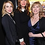 Emma Roberts posed with her aunt Julia Roberts and her aunt Lisa Roberts Gillan at the event in Hollywood.