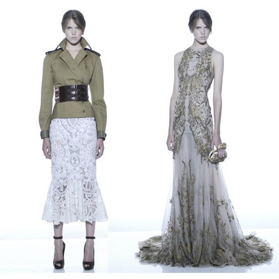 Pictures of Sarah Burton For Alexander McQueen's Cruise 2012 Collection: See It All!