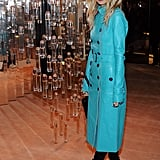 Rachel Zoe at the Burberry body party.