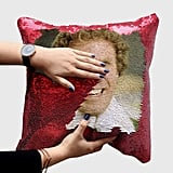 Buddy the Elf Sequin Pillow