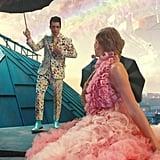 Brendon's Floral Suit