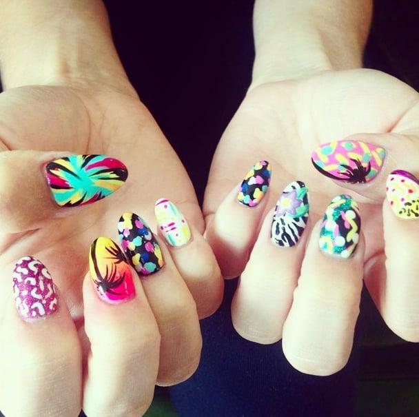 Ready, Set, DIY! The Best Festival Nail Art on Instagram