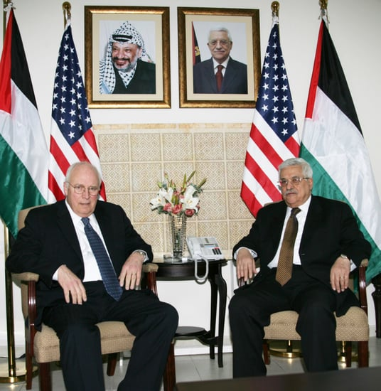 "Cheney Tells Palestine and Israel, ""Love Hurts"""