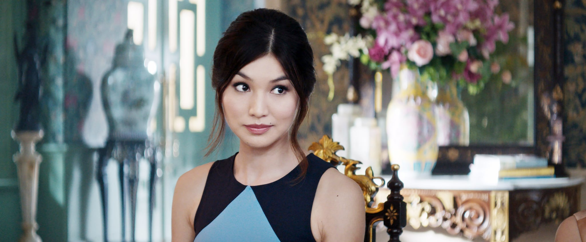 CRAZY RICH ASIANS, Gemma Chan, 2018.  Warner Bros. Pictures/courtesy Everett Collection