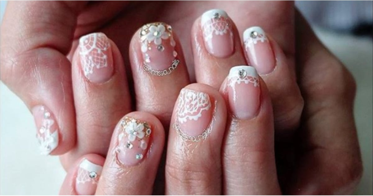 Lace Nails Are the New Trend That Will Have Your Rushing to the Salon