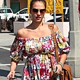 Jessica Alba Promotes Flower Power and Pain Management