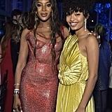 Naomi Campbell and Yara Shahidi at the 2019 LACMA Art + Film Gala