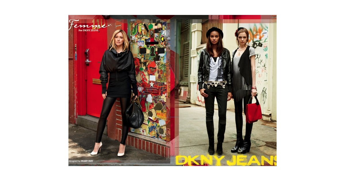 Hilary Duff for DKNY Jeans shot by The Sartorialist, Scott ...
