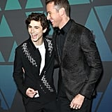 Thomethee Chalamet and Armie Hammer