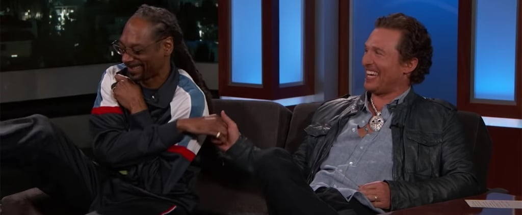 Matthew McConaughey, Snoop Dogg Jimmy Kimmel Live March 2019