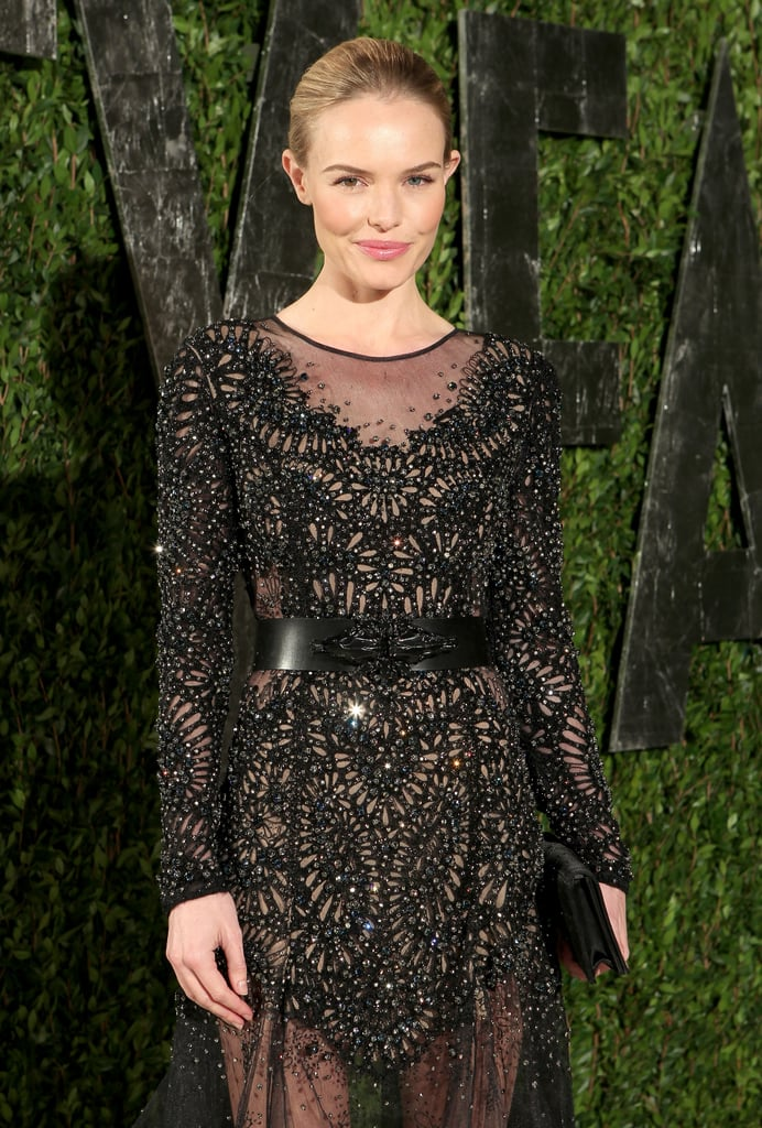 A better look at Kate Bosworth's sheer detailing.