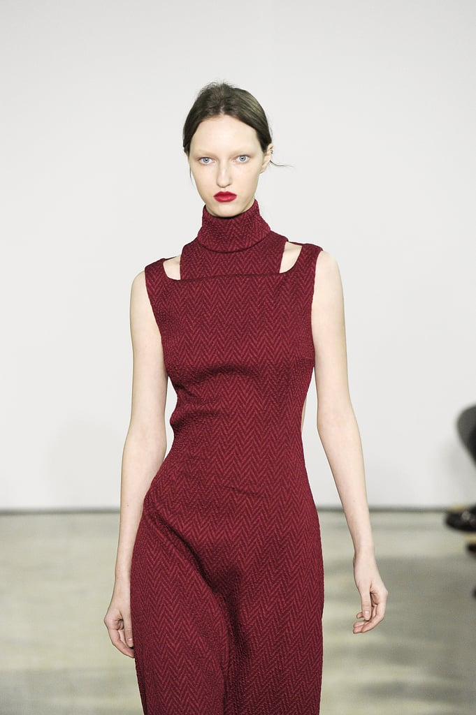The High-Necked Dress Is From Emilia Wickstead's Fall 2016 Collection