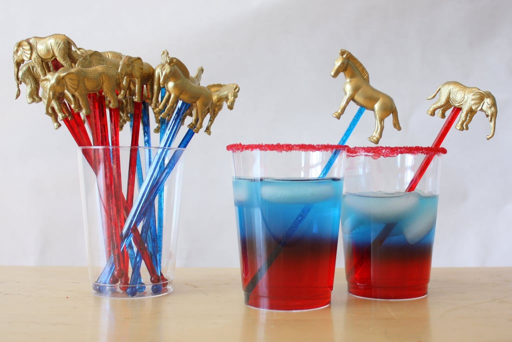 Give your cocktails some political panache with the Bipartisan Gold Drink Stirrers ($12 for 10).
