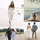 Whether you're planning a wedding or just daydreaming about dresses, POPSUGAR Fashion is about to take you on a tour of the most gorgeous beach wedding gowns — all from real weddings. You may have your own prerequisites for the dress, but sometimes seeing the gown in action can make all the difference.