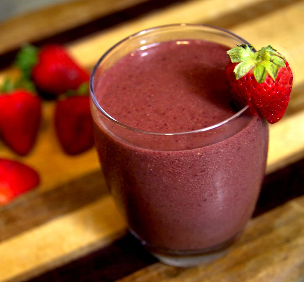 Cherry Berry Sore-Muscle Smoothie