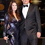 Pictured: Kyla Weber and Vince Vaughn
