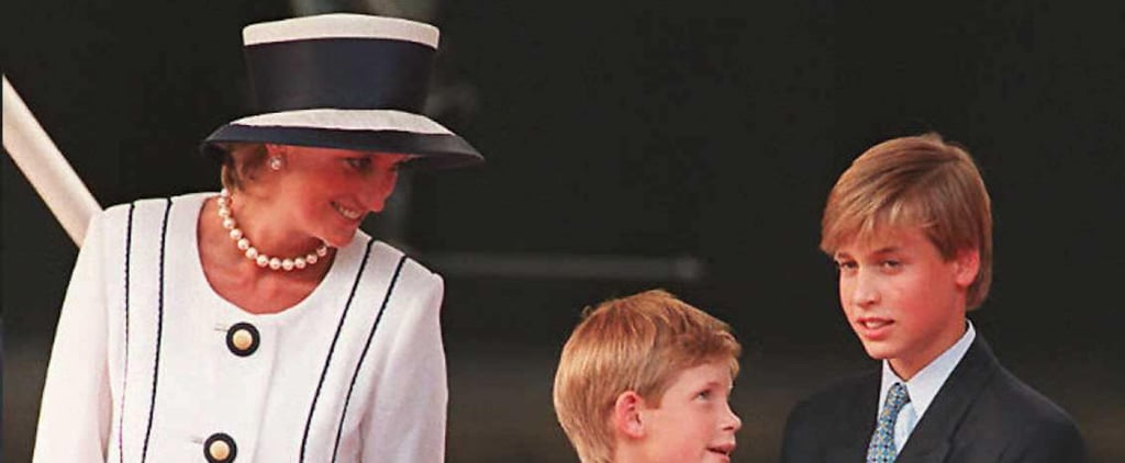 William and Harry's Young Ages When Diana Died Are Still Shocking