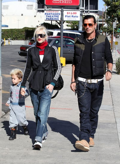 Gwen Stefani and family out and about