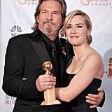 With Jeff Bridges
