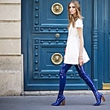 Taking the Streets in Dior Boots