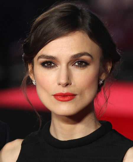 Keira Knightley in Red Lipstick 2014