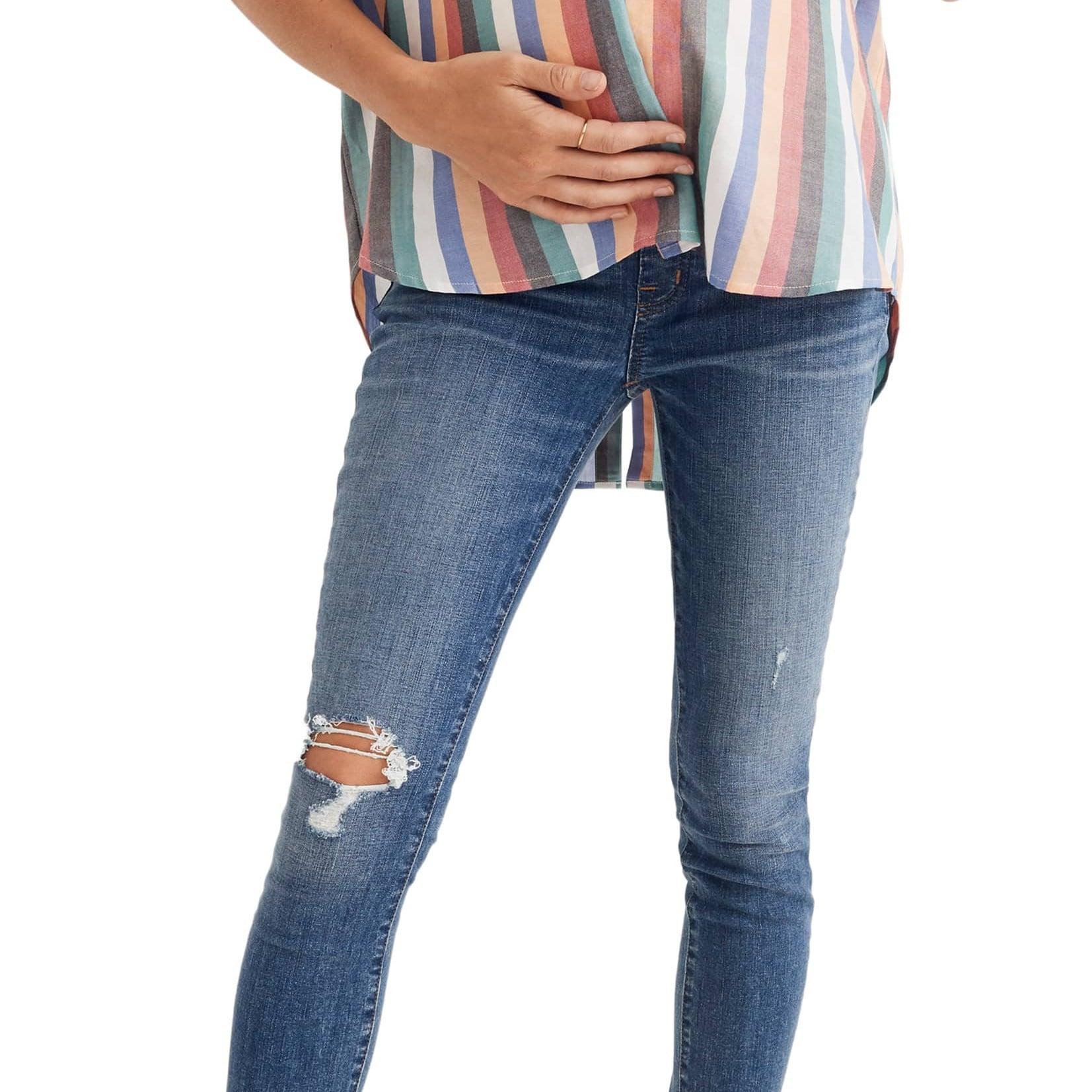 8e199f5b5b0 Best Maternity Jeans 2019