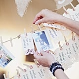 Love that they were the same shape as the table assignment cards, too! Source: Style Me Pretty