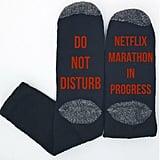 Netflix Marathon Socks