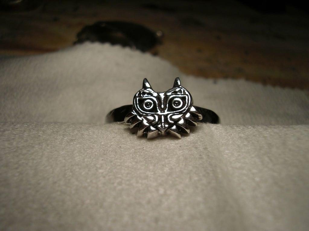 Legend of Zelda Majora's Mask Silver Ring (starting at $100)
