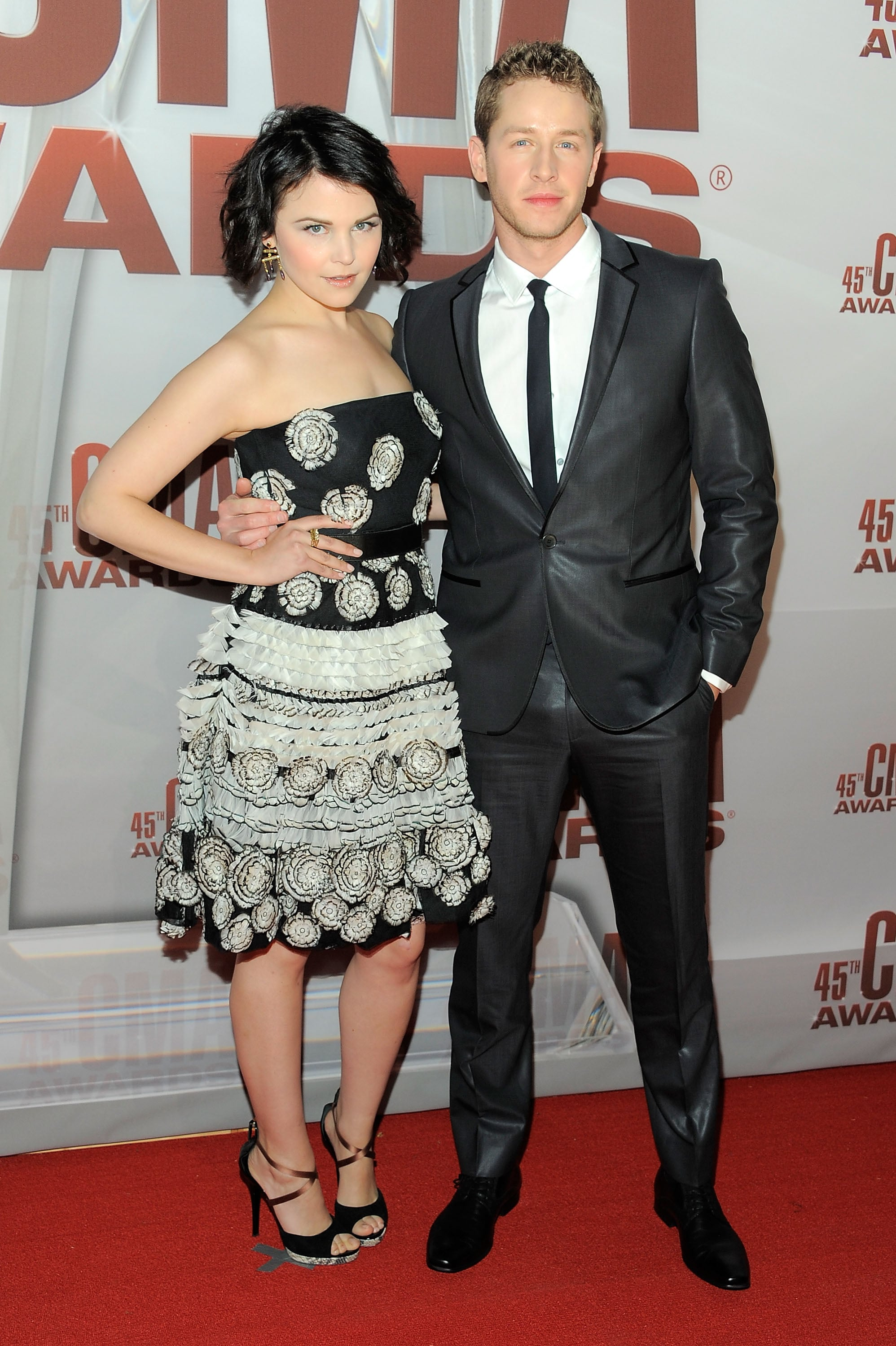They made their red carpet debut at the 2011 CMA Awards.