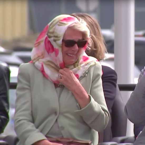 Camilla Laughing During Canadian Throat Singing Performance