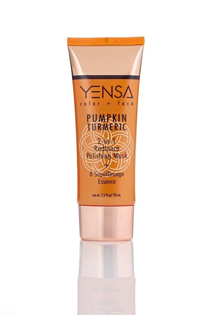 Yensa Pumpkin Turmeric 2-in-1 Radiance Polishing Mask