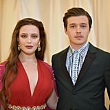 Pictured: Katherine Langford and Nick Robinson