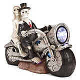 Ghost Couple on Motorcycle With Light