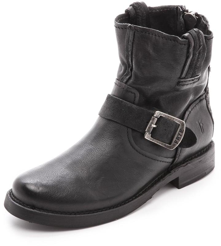 Frye Vicky Artisan Back Zip Booties ($398)