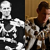Philip, Duke of Edinburgh and Matt Smith
