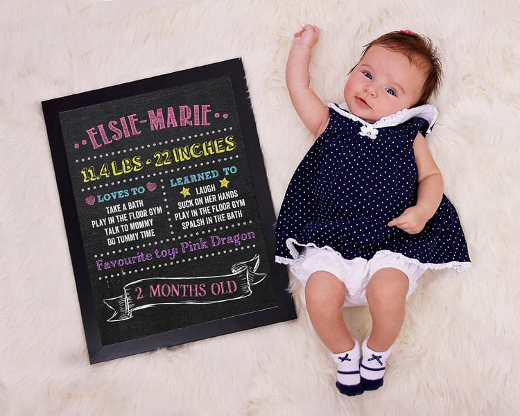 Ways To Document Monthly Baby Photos Popsugar Family