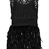 We love the bohemian-cool combo of feathers and crochet.  Sass & Bide Winding Road Feather Dress ($1,320)