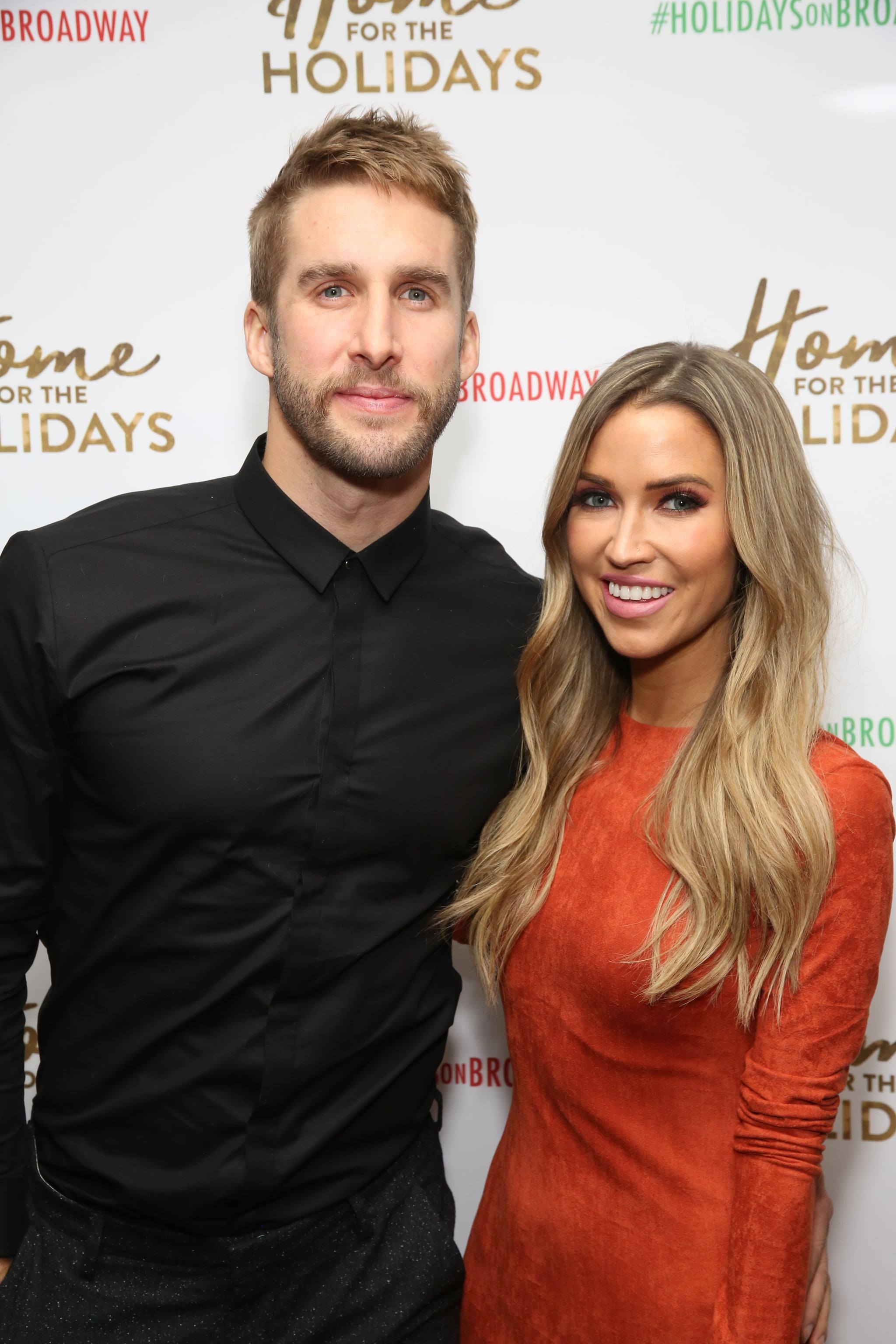 NEW YORK, NY - NOVEMBER 21:  Shawn Booth and Kaitlyn Bristowe attend the Broadway Opening Night after party for  'Home for the Holidays - The Broadway Concert Celebration' at the Copacabana in New York City.  (Photo by Walter McBride/Getty Images)