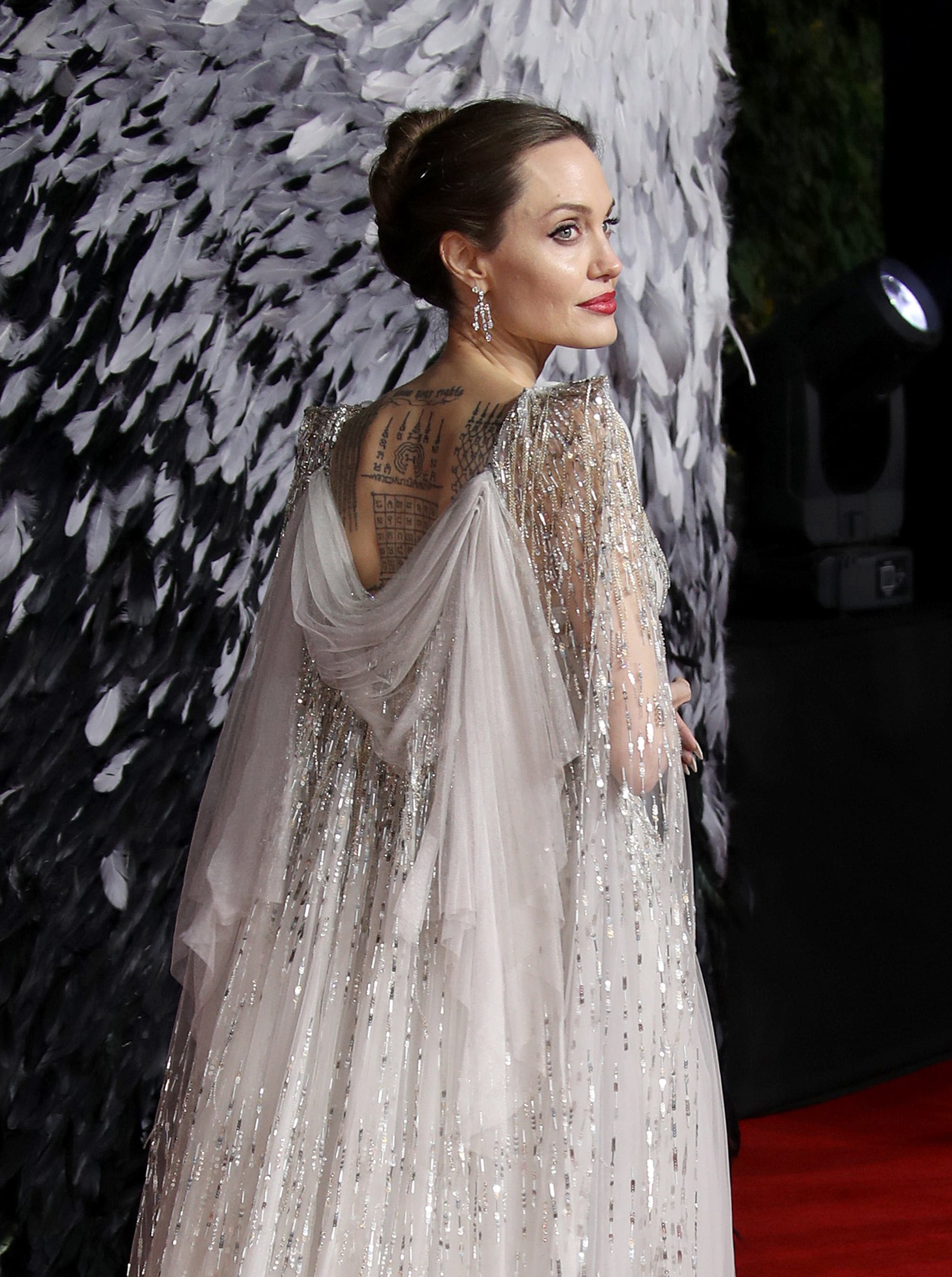 Angelina Jolie At The Maleficent Mistress Of Evil Premiere